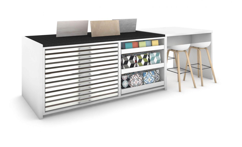Innova MO22 - Tegelbibliotheek - opstelling