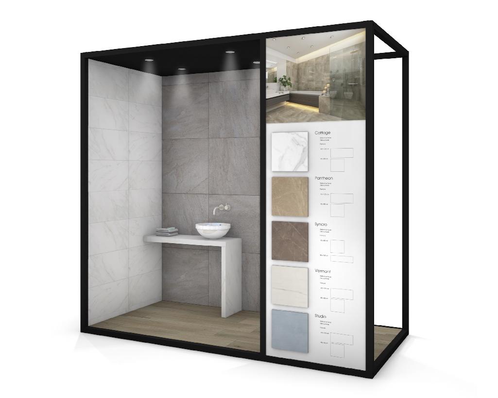 Living Box 130 - Tegelbox