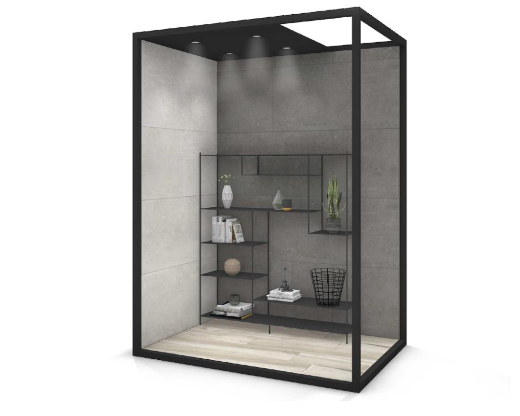 Living Box 190 130 - Tegelbox