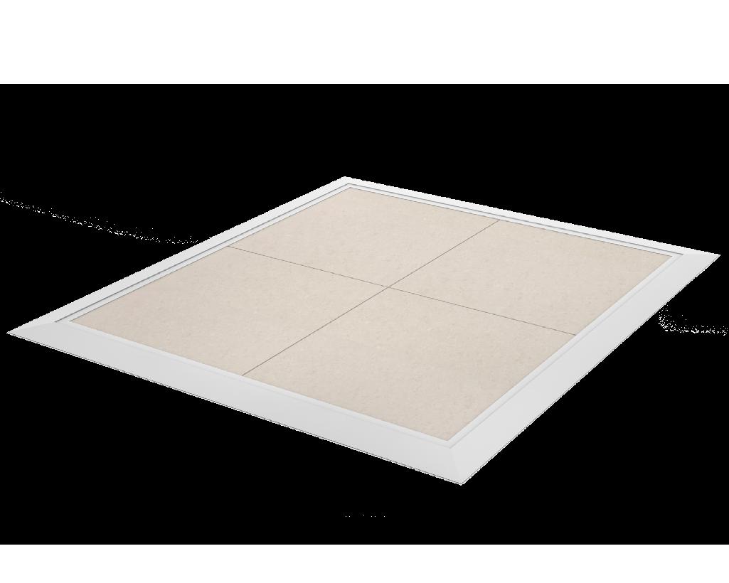 Vloer- en muurframes
